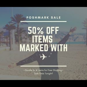 Other - ✈️ 50% OFF SALE—ENDS TONIGHT! ✈️
